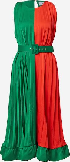 Forever Unique Robe en vert / rouge, Vue avec produit