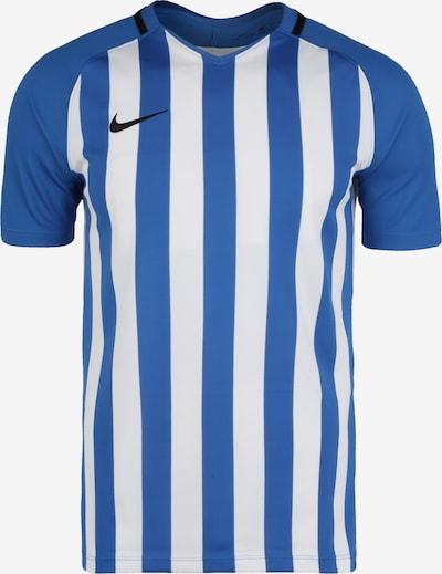 NIKE Fußballtrikot in himmelblau / schwarz / weiß, Produktansicht