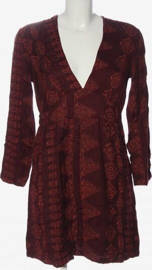 Antik Batik Langarmkleid in S in rot, Produktansicht