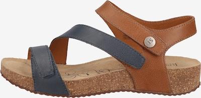 JOSEF SEIBEL Sandale 'Tonga' in chamois / taubenblau, Produktansicht