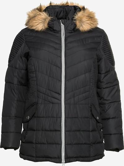 SHEEGO Zimní bunda - světle hnědá / černá, Produkt