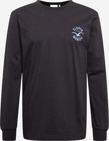 Cleptomanicx Shirt 'Games' in Schwarz
