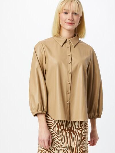 OPUS Bluza 'Faktus' u svijetlobež, Prikaz modela