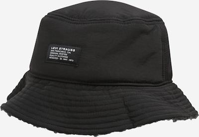 LEVI'S Chapeaux en noir / blanc, Vue avec produit