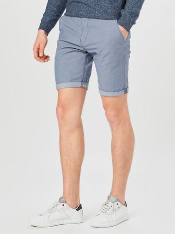 Pantaloni chino di TOM TAILOR DENIM in blu