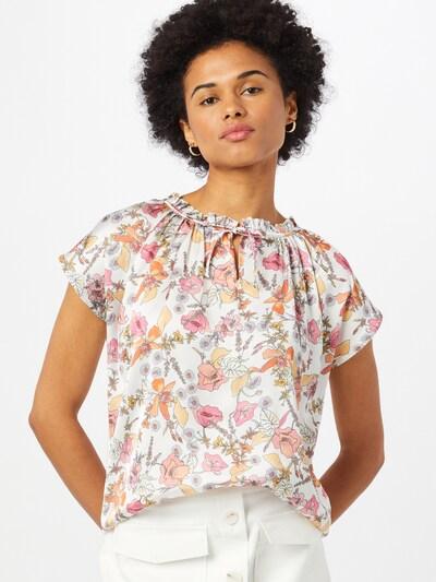 MORE & MORE Blouse in de kleur Gemengde kleuren / Wit, Modelweergave