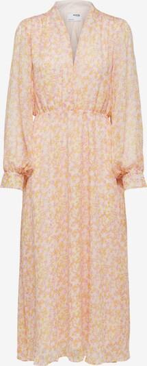 SELECTED FEMME Shirt Dress 'SLFJEANIE-VIENNA LS MIDI DRESS M' in Mauve / Pastel purple / Pastel orange, Item view