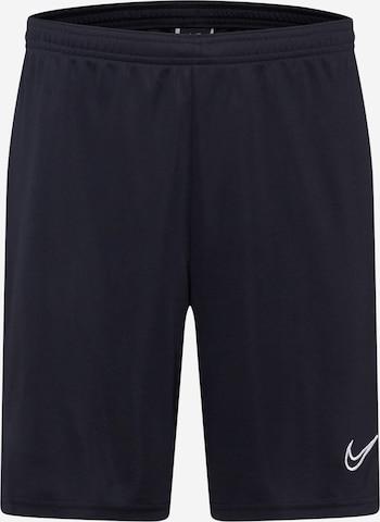 Pantaloni sportivi 'Academy' di NIKE in nero