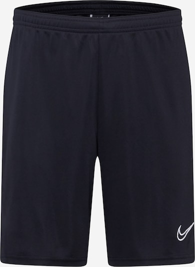 NIKE Športové nohavice 'Academy' - čierna / biela, Produkt