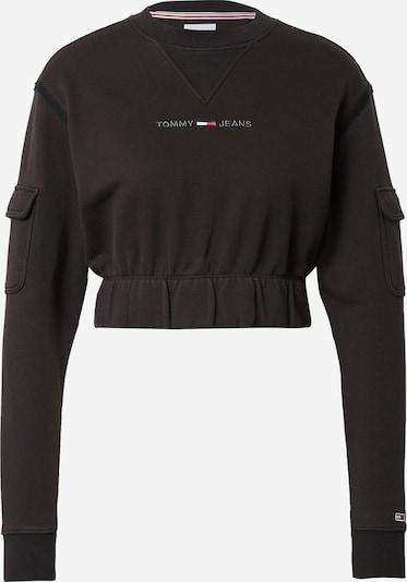 Tommy Jeans Sweat-shirt en bleu / rouge / noir / blanc, Vue avec produit