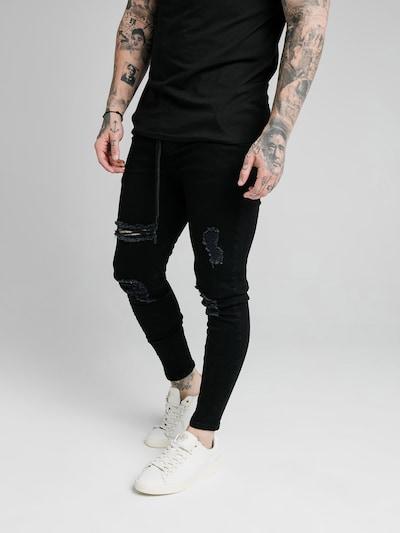 SikSilk Nohavice - čierna, Model/-ka