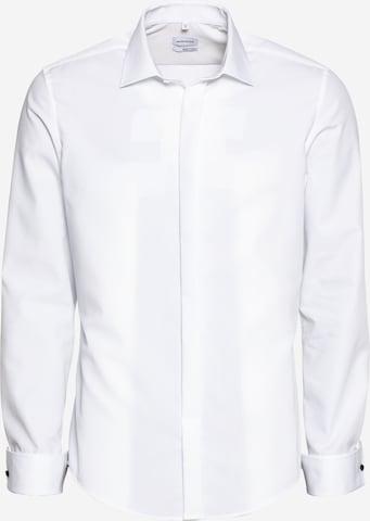 SEIDENSTICKER Businesspaita värissä valkoinen