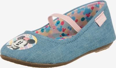 Disney Minnie Mouse Schuh in hellblau, Produktansicht