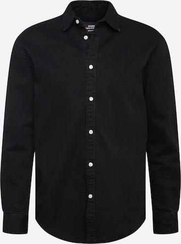 Camicia 'Lenny' di Denim Project in nero
