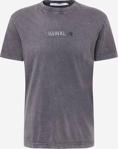 Calvin Klein Jeans T-Shirt in grau / schwarz, Produktansicht