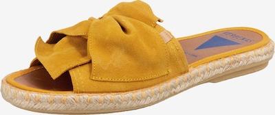 VERBENAS Pantolette 'Alicia' in goldgelb, Produktansicht