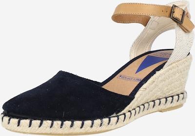 Sandale 'MALENA MAHON' VERBENAS pe bej / albastru închis / maro deschis, Vizualizare produs