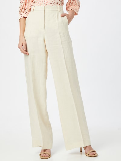 Weekend Max Mara Trousers with creases 'SIAMESE' in Beige, View model