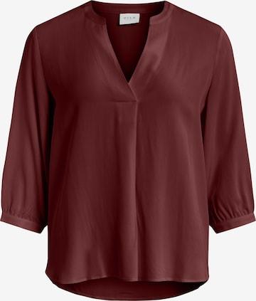 VILA Bluse 'Dania' i rød