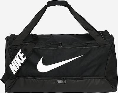 Geantă sport 'Brasilia' NIKE pe negru / alb, Vizualizare produs