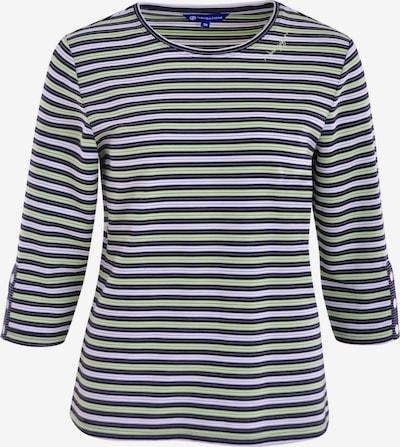 Navigazione Sweatshirt in navy / weiß, Produktansicht