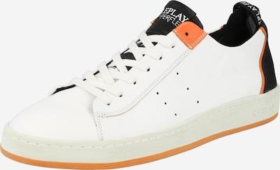 REPLAY Sneaker 'WADPORT' in orange / schwarz / weiß, Produktansicht