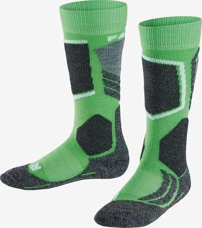 Șosete FALKE pe gri închis / verde deschis / negru / alb, Vizualizare produs