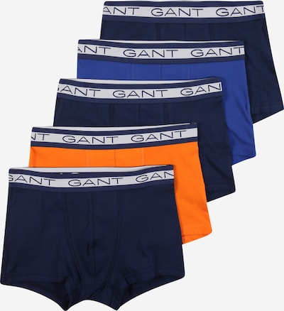 GANT Underpants in Royal blue / Dark blue / Light grey / Orange, Item view