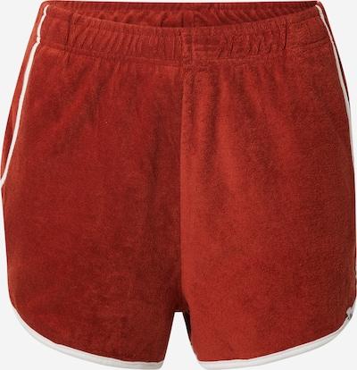 ELEMENT Pantalon de sport 'SEVENTY' en rouille / blanc, Vue avec produit