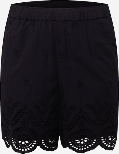 Zizzi Shorts 'MALVA' in schwarz, Produktansicht