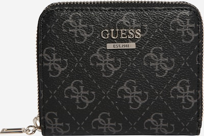 GUESS Wallet 'TYREN' in muddy coloured / silver, Item view