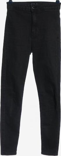 Bershka High Waist Jeans in 27-28 in schwarz, Produktansicht