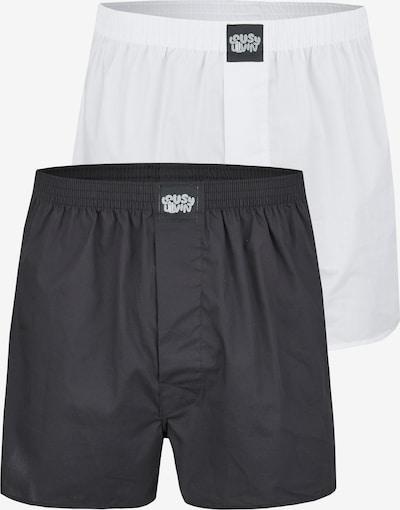 Lousy Livin Boxershorts in schwarz / weiß, Produktansicht