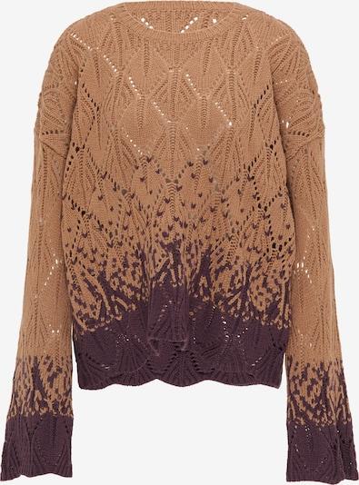 IZIA Pullover in braun / hellbraun, Produktansicht