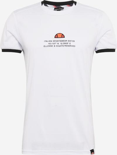 ELLESSE Funkcionalna majica | mešane barve / bela barva, Prikaz izdelka