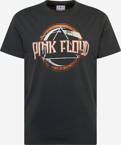 Tricou 'PINK FLOYD ON THE RUN' AMPLIFIED pe gri închis / portocaliu / alb, Vizualizare produs