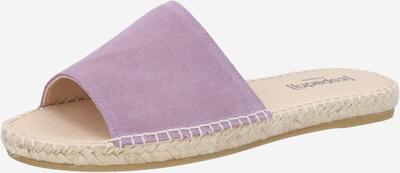 espadrij l´originale Pantolette 'Plage' in mauve, Produktansicht