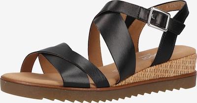 GABOR Sandalen met riem in de kleur Zwart, Productweergave