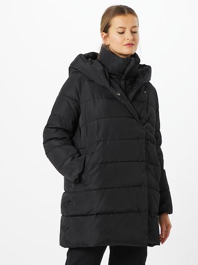 Herrlicher Mantel 'Tamsin' in schwarz, Modelansicht