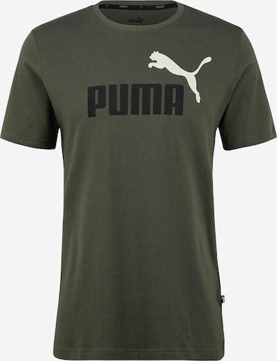 PUMA Sport-Shirt in grün / schwarz / weiß, Produktansicht