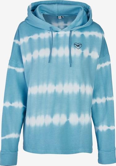 Cleptomanicx Kapuzensweater 'Dandada' in blau / weiß, Produktansicht