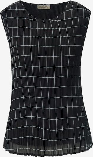 Uta Raasch Blusentop in schwarz / weiß, Produktansicht