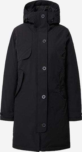 Bergans Veste outdoor 'Oslo Down' en noir chiné, Vue avec produit
