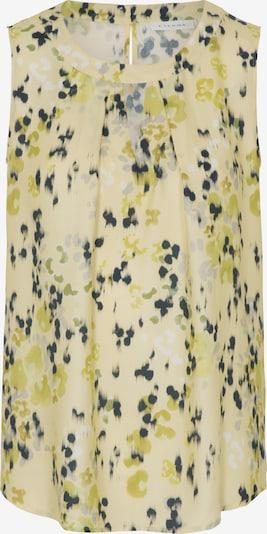 ETERNA Top in gelb / dunkelgrün, Produktansicht