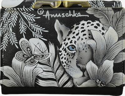 ANUSCHKA Geldbörse 'Cleopatra's Leopard' in mischfarben / schwarz / weiß, Produktansicht