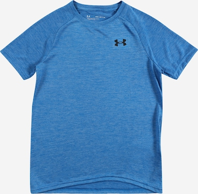 UNDER ARMOUR Sport-Shirt 'Tech 2.0 SS' in blau, Produktansicht