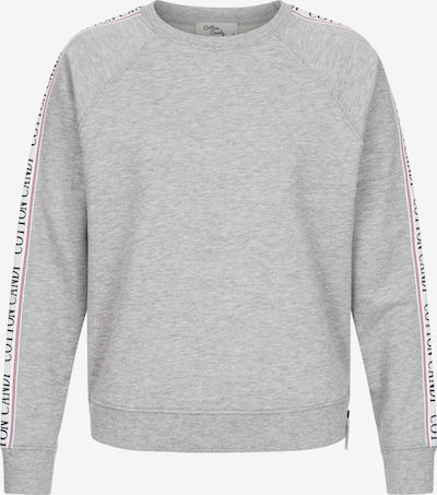 Cotton Candy Pullover 'HELI' in grau, Produktansicht