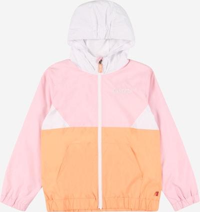 LEVI'S Chaqueta de entretiempo en naranja / rosa claro / blanco, Vista del producto