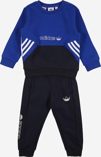 ADIDAS ORIGINALS Jogginganzug in blau / navy / weiß, Produktansicht