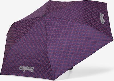 ergobag Regenschirm in lila, Produktansicht